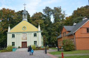 Łódź Miejski Skansen Architektury Drewnianej