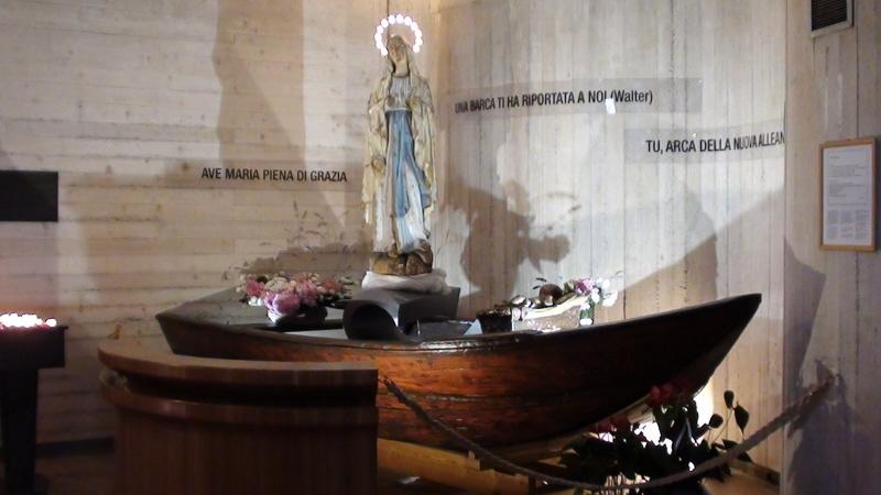 Longarone. Kościół świadectwem tragedii