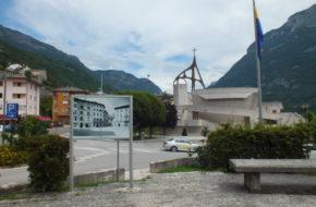 Longarone Kościół świadectwem tragedii
