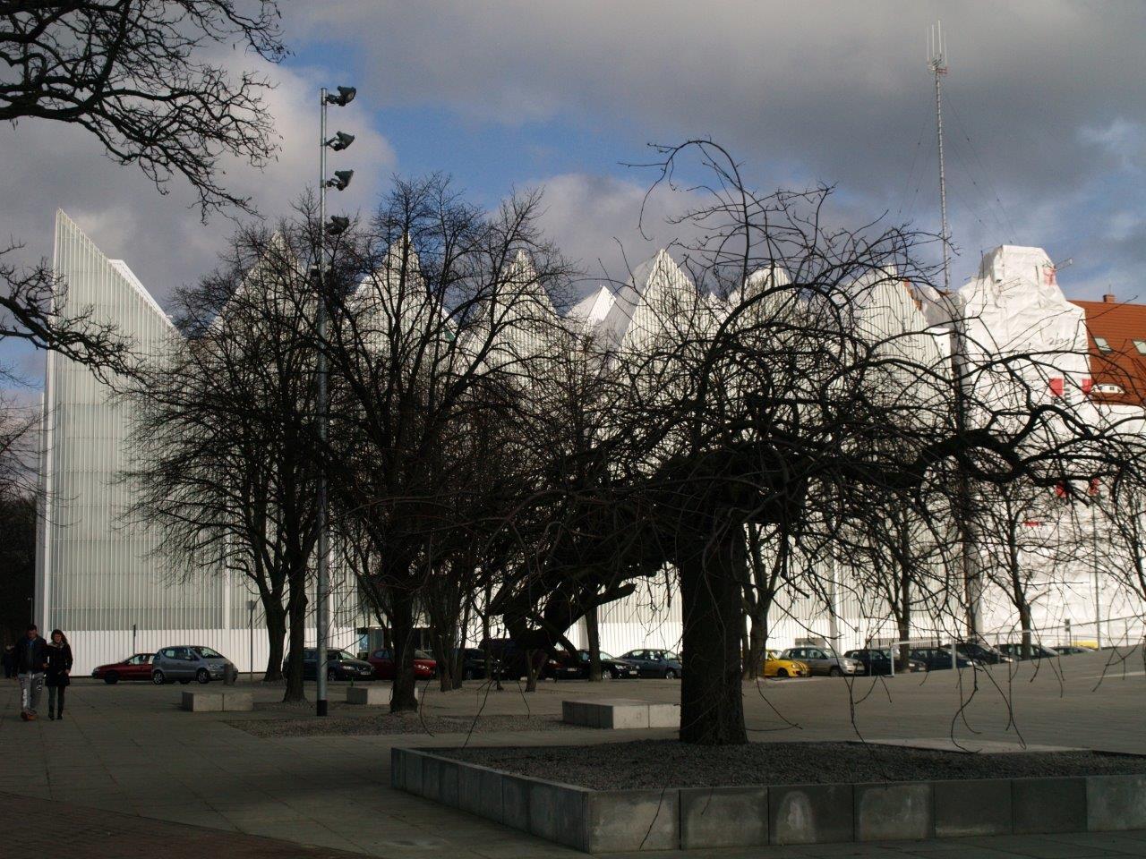 Szczecin. Kontrowersyjny gmach filharmonii