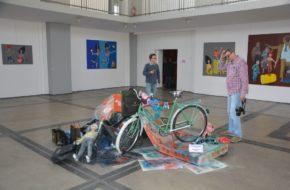 Katowice Galeria sztuki w szybie górniczym