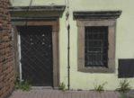 Chęciny. Stara synagoga zamknięta na głucho