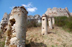 Zamek Spiski Ruiny przeogromnej twierdzy