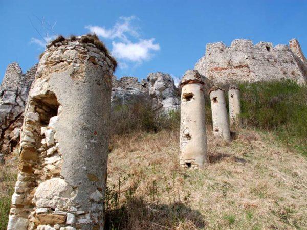 Zamek Spiski. Ruiny przeogromnej twierdzy