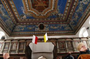 Wierzbno Malowany strop kościoła