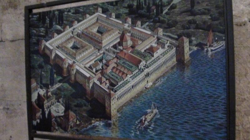 Split. Pałac Dioklecjana, rzymskiego cesarza