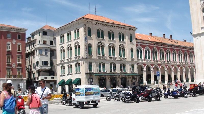 Split. Miasto wyrosłe wokół pałacu
