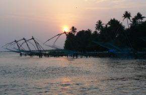 Kochin Indyjski port ma ślady wielu nacji