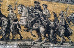 Drezno Fürstenzug – największy portret rodzinny