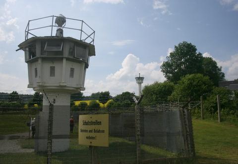 Mödlareuth. Wioska kiedyś murem podzielona