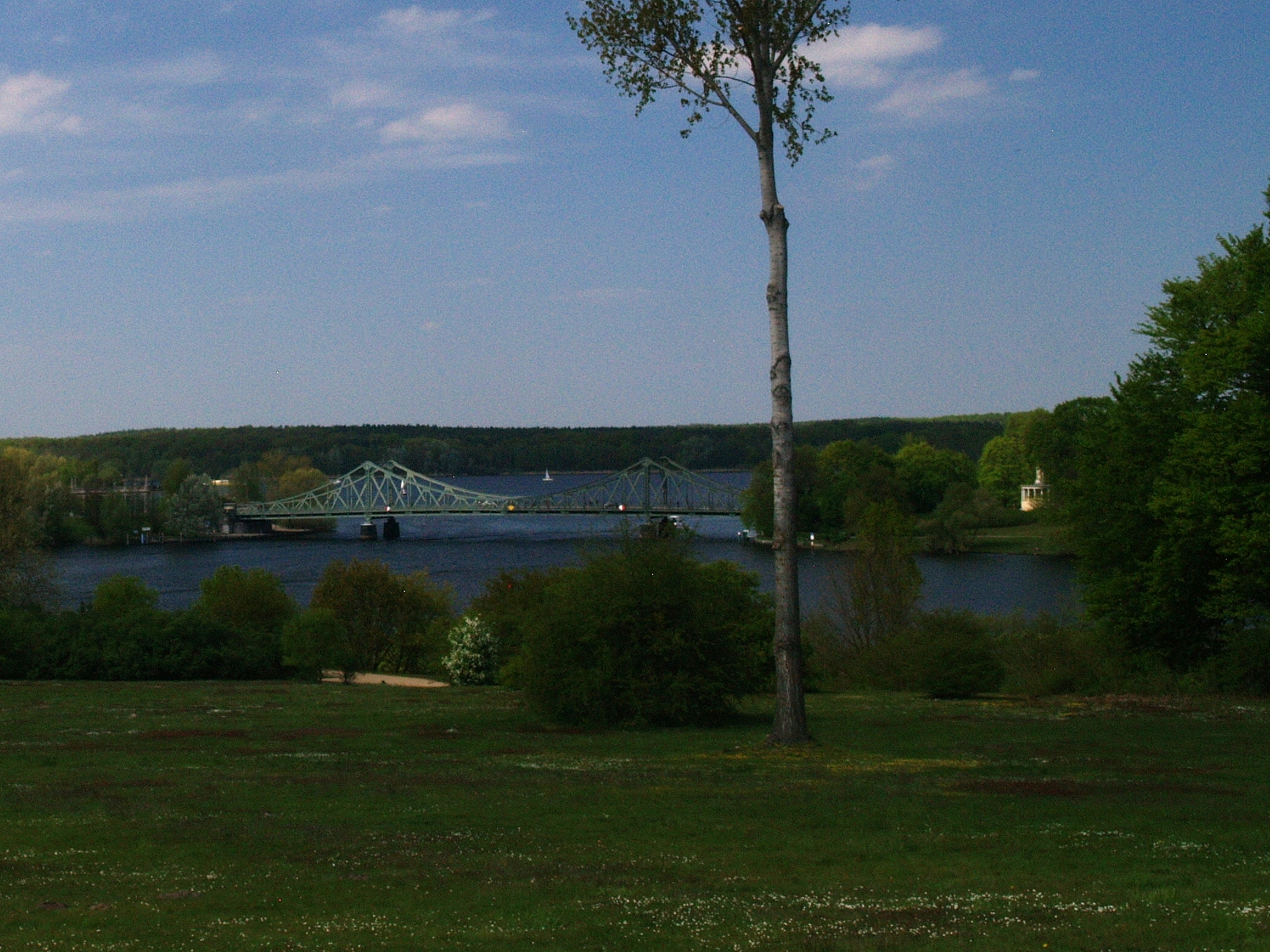Poczdam. Glienicke: Most Jedności – Most Szpiegów