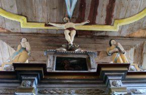 Krępcewo Wiejski kościół von Wedlów