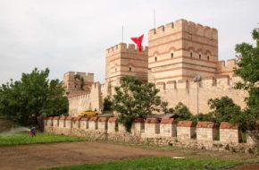 Stambuł Obszedłem całe mury Bizancjum