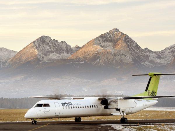 Poprad - Tatry. Samolotem na słowackie stoki 2015