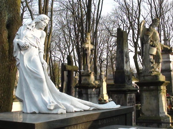 Warszawa. Stare Powązki, cmentarz najpiękniejszy