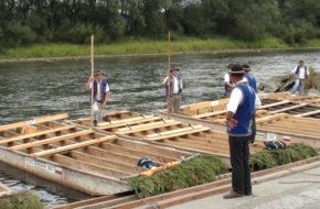 Pieniny Spływ Dunajcem: jakiś taki smutniejszy