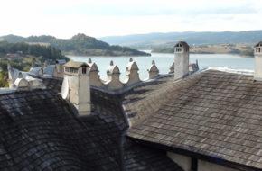 Niedzica Pieniński zamek zwany Dunajec