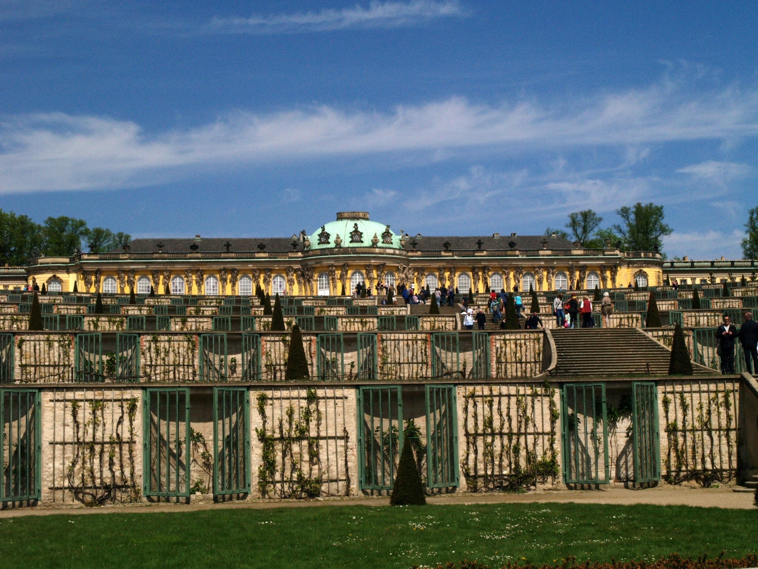 Poczdam. Letni pałacyk Fryderyka Wielkiego