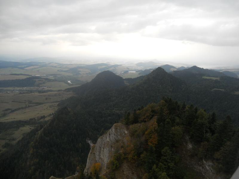 Pieniny. Na Trzy Korony z przełęczy Osice