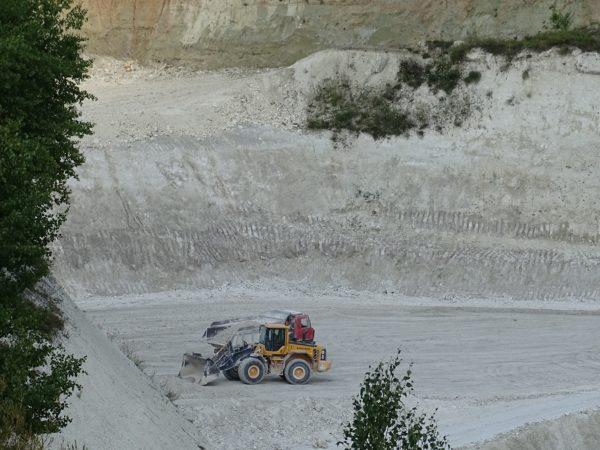 Mielnik. Biała dziura w ziemi, czyli kopalnia kredy