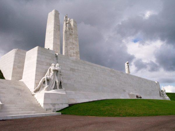 Vimy. Narodowy pomnik pamięci Kanady