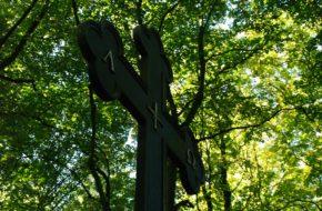 Szczecin Dzieje krzyża na Cmentarzu Centralnym