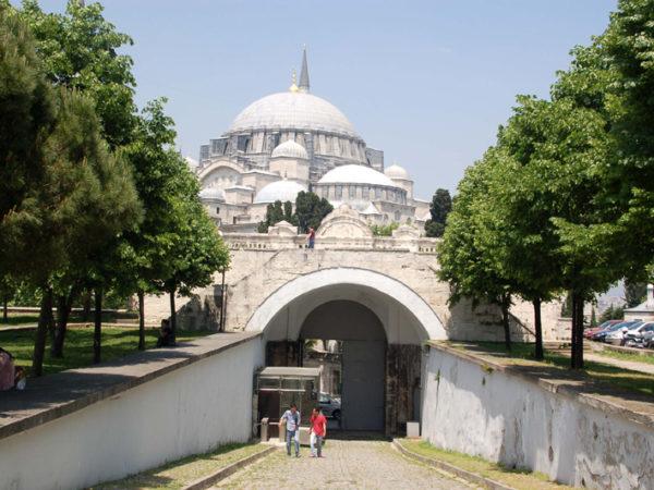 Stambuł. Sűleymaniye, czyli Sulejman i Roksolana