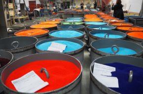 Desná W fabryce szklanych paciorków