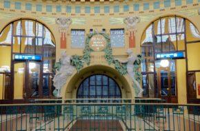 Praga Dworzec główny, dawniej Wilsona