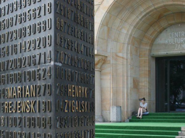 Poznań. Pomnik trzech, co Enigmę złamali