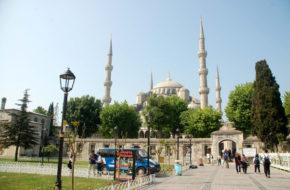 Stambuł Sultanahmet Camii, czyli Błękitny Meczet