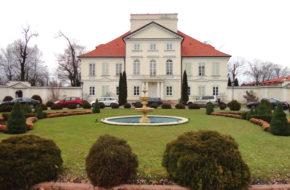 Sterdyń Pałac Ossolińskich w nowej roli