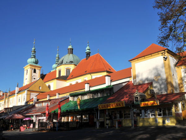 Svatý Kopeček. Sanktuarium na Świętej Górce