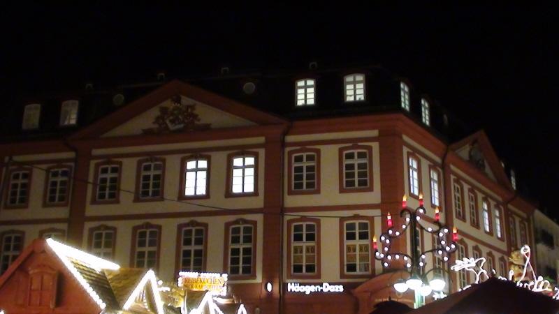 Frankfurt. Jarmark bożonarodzeniowy nad Menem