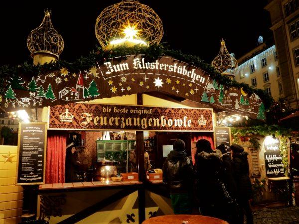 Drezno. Striezelmarkt, najstarszy targ adwentowy
