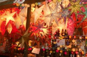 Moguncja Udziela się atmosfera świątecznego targu