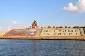 Ismailia Motorówką przez nowy Kanał Sueski