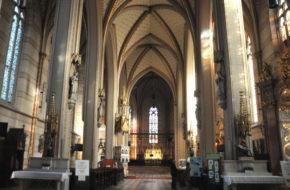 Ołomuniec Skarby ukryte w kościołach