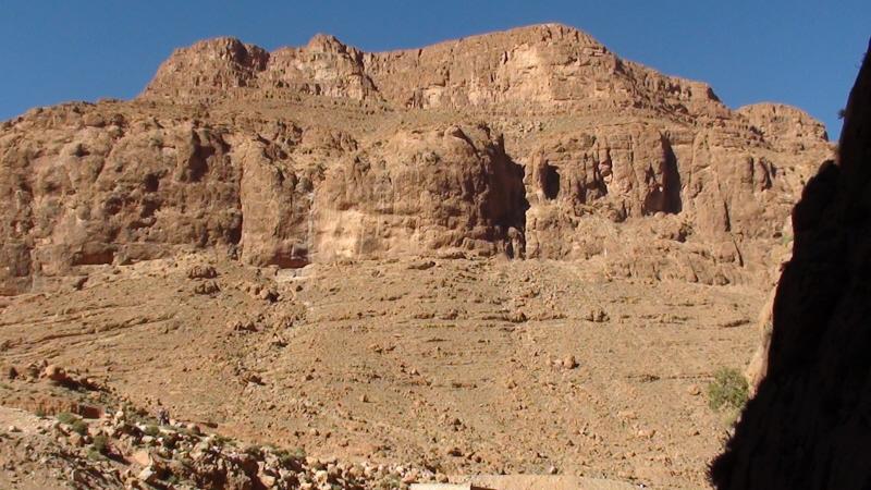 Tinghir. W skalnej gardzieli wawozu Todra