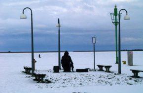 Nowe Warpno Miasteczko w zimowej odsłonie