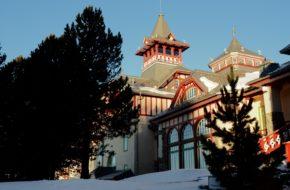 Szczyrbskie Jezioro Dwa okresy świetności hotelu Grand