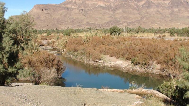 Atlas Wysoki. W dolinie rzeki Dara