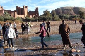 Ait Ben Haddou Saharyjski ksar na liście UNESCO