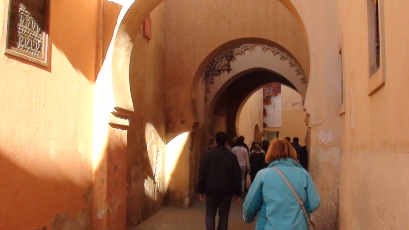 Marrakesz. Medyna za murami i meczet Kutubija
