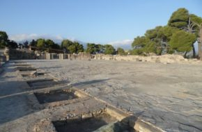 Fajstos Tajemniczy dysk i ruiny pałacu
