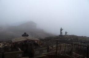 Golan Ziemia Obiecana skrywa się we mgle
