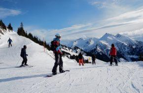 Dorfgastein Pierwszy z brzegu w narciarskiej dolinie