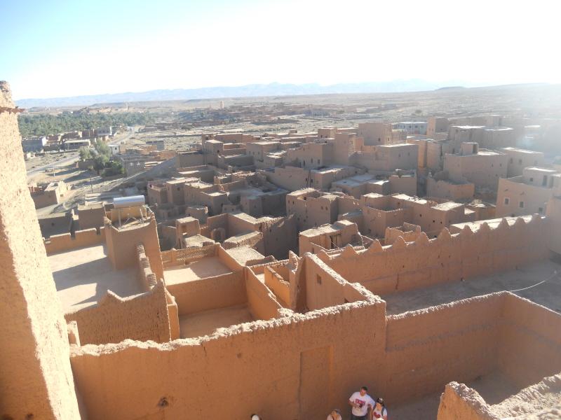 Oulad Othmane. Kasba w oazie i spojrzenie na dwa światy