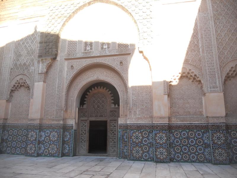 Marrakesz. Medresa Alego Ibn Justusa