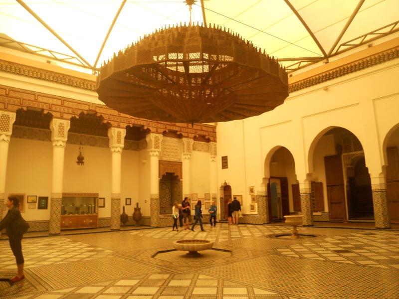 Marrakesz. Miejskie muzeum w dawnym pałacu